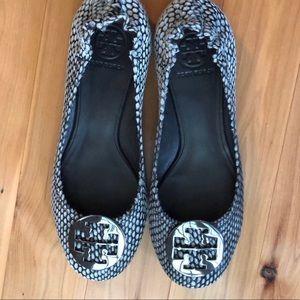 TORY BURCH Reva Ballet Flats EUC Size 9 💕